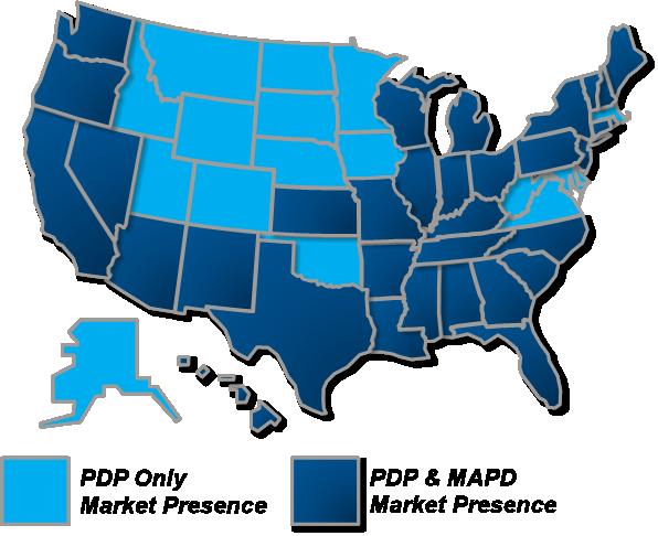 Centene Corporation Market Map