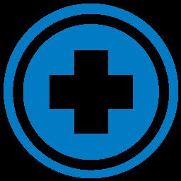 medicare icon blue
