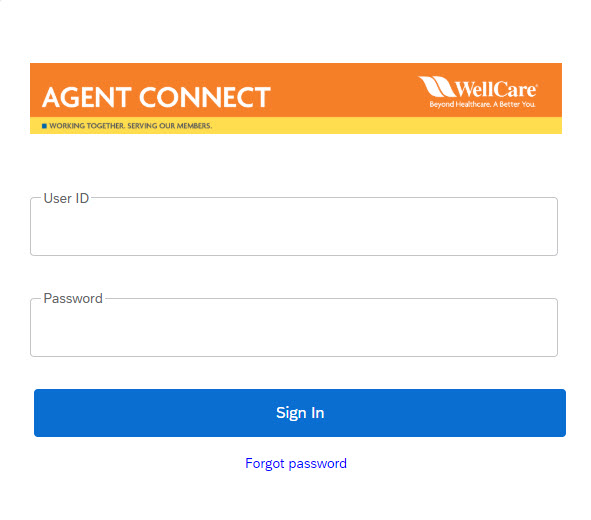 Agent Connect Login May 2019